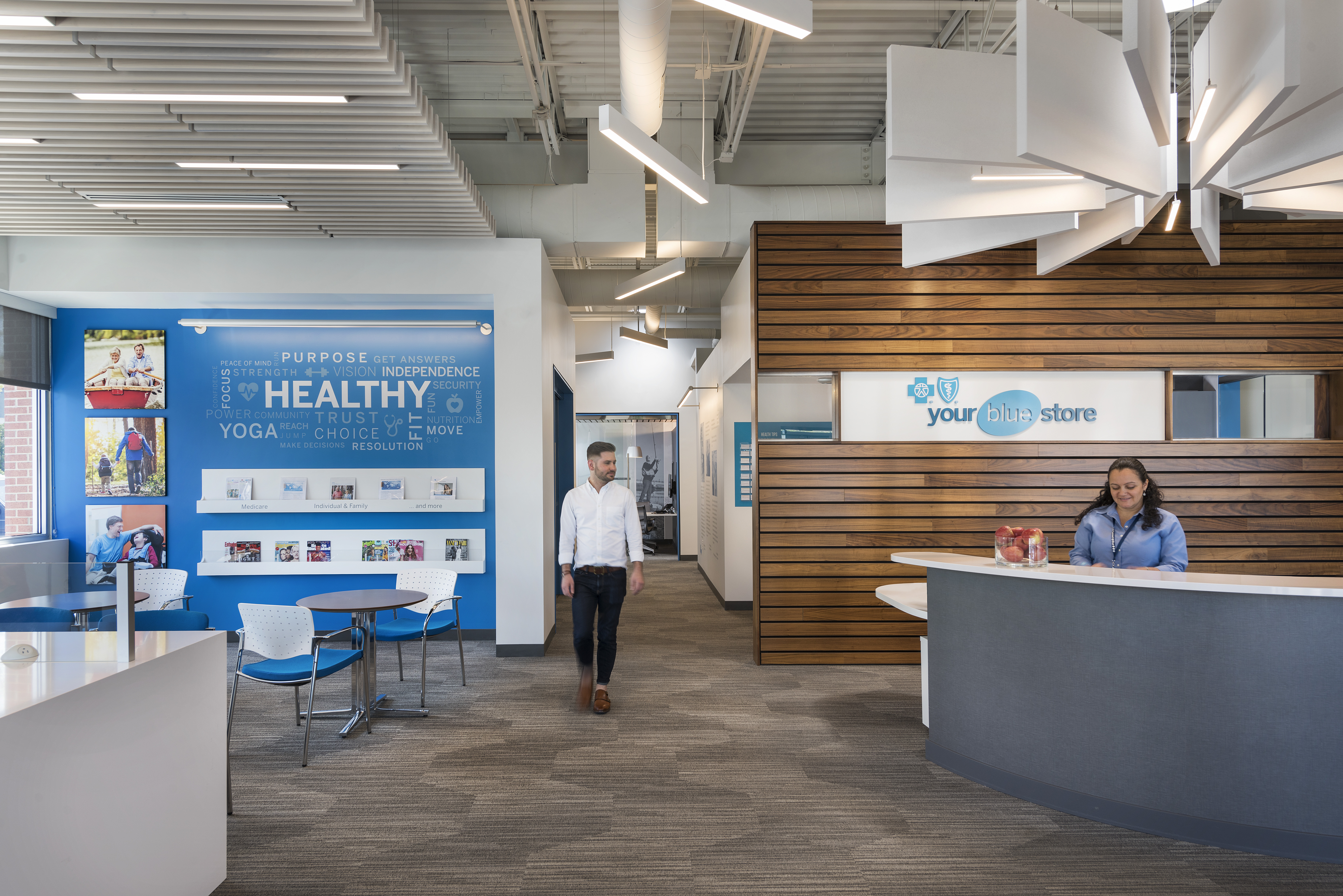 Blue Cross Blue Shield RI Reception by KITE Architects