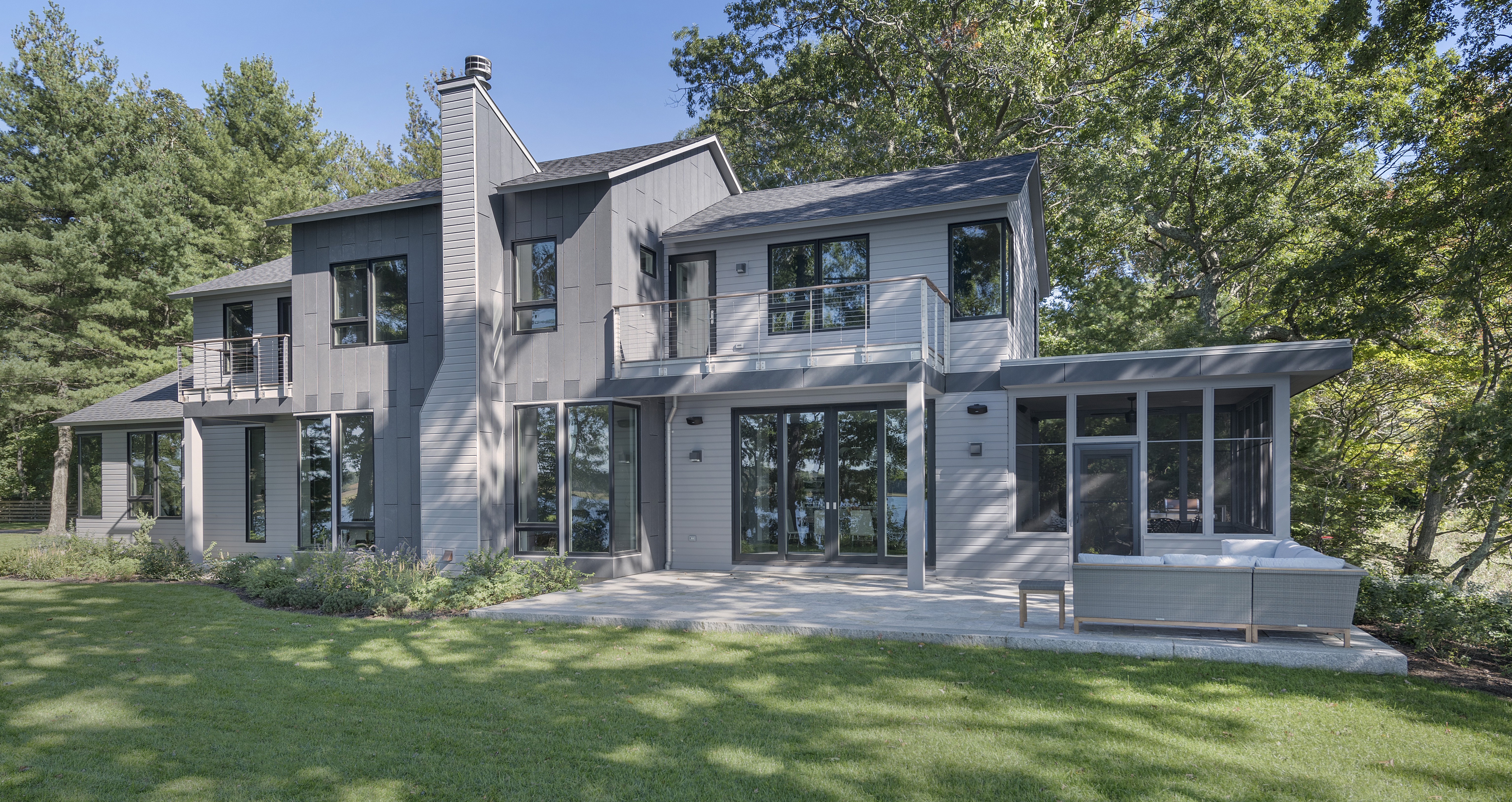 Kite_1532_Hundred Acre Cove_Greenspan Residence_Exterior_Day_Rear