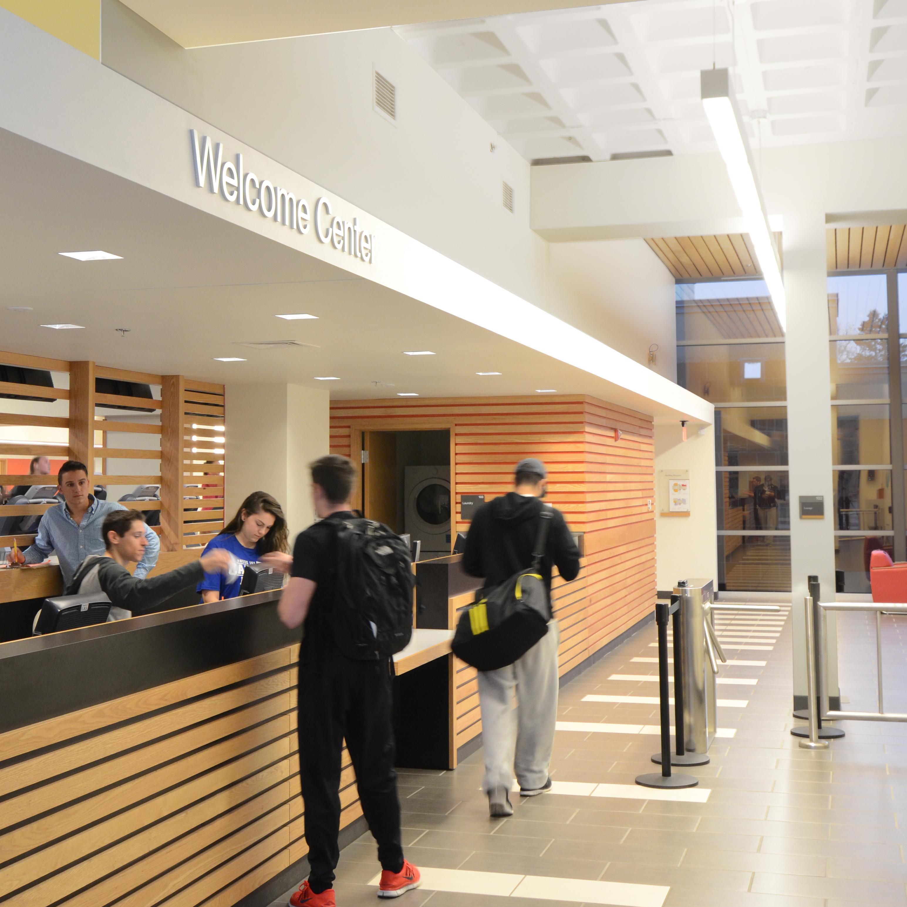Kite-0819-URI Wellness Center-Interior-Desk