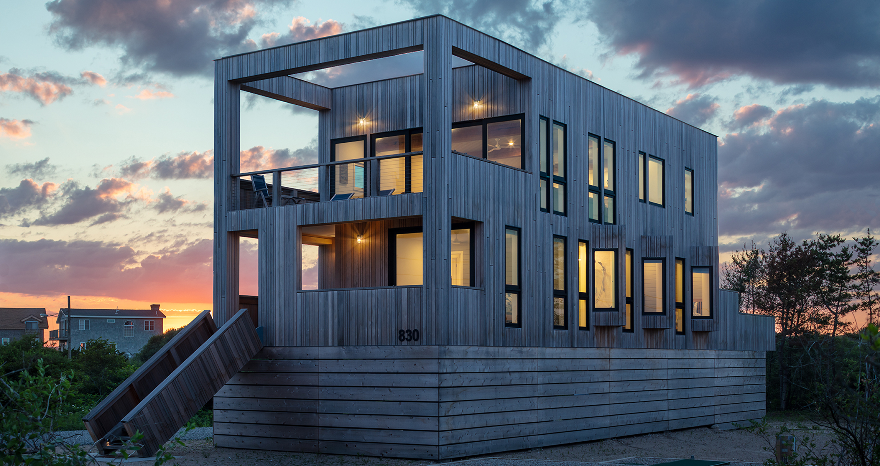 Kite-1614-Charlestown-beach-houses-modern-dusk
