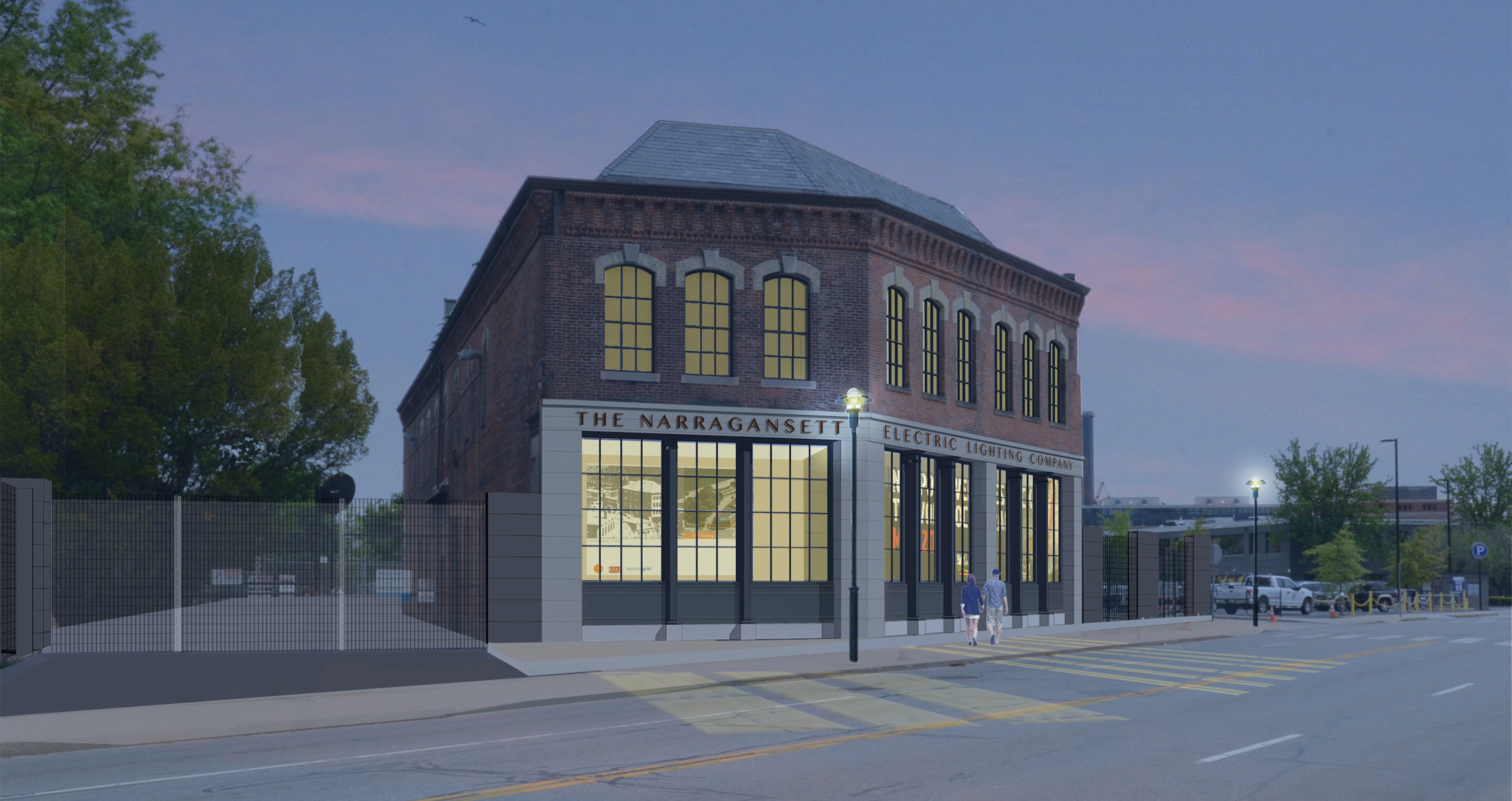 Kite-1721- National Grid Dyer St Substation- Rendering